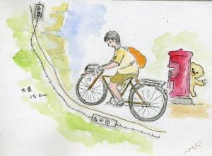 自転車通勤一日かぎり